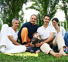 Spiritual Family by Wari Om  Yoga Photography