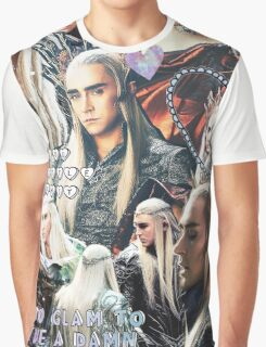 thranduil collage Graphic T-Shirt