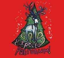 EXPECTO PATRONUM Harry Potter Christmas Design One Piece - Short Sleeve