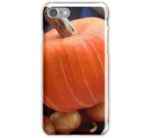 Autumn vegetables - onions and pumpkin iPhone Case/Skin
