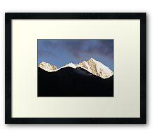 Himalayas mountain range, Nepal Framed Print