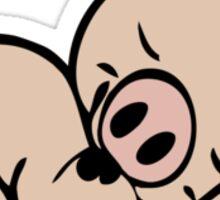 Sleeping piggy Sticker