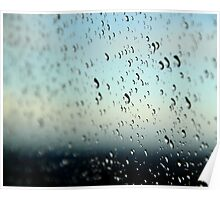 A Watered Window Poster