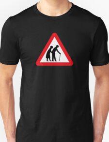 Elderly People (I), Traffic Sign, UK T-Shirt