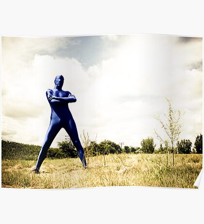 A Day in Blue Zentai lomo 02 Poster