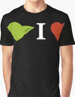 Yoda I Love (black) Graphic T-Shirt