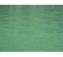 Emerald water Photographic Print