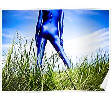 A Day in Blue Zentai lomo 04 Poster
