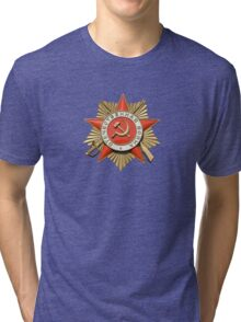 Russian award Tri-blend T-Shirt