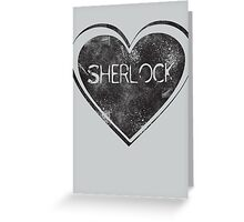 Sherlove Greeting Card