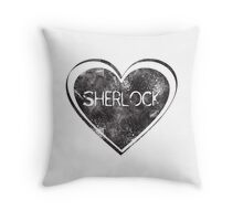 Sherlove Throw Pillow
