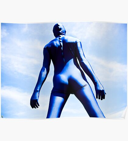 A Day in Blue Zentai lomo 08 Poster