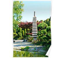 Japanese Garden Poster