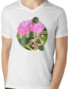 Dew Drops on the Rose Mens V-Neck T-Shirt