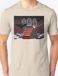 Gothic Stairs and Witch 5 Unisex T-Shirt