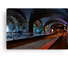 The Dark Arches Leeds Canvas Print
