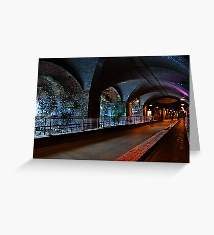 The Dark Arches Leeds Greeting Card