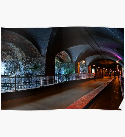 The Dark Arches Leeds Poster