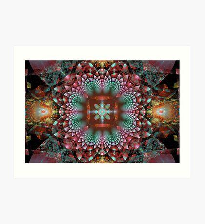 SCC - Secret Jewel Box Art Print