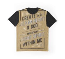 Clean Heart Graphic T-Shirt