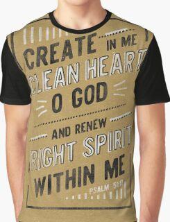 Clean Heart Graphic T-Shirt