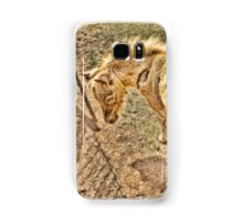 Miniature horse foal abstract Samsung Galaxy Case/Skin