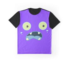Monster Face Graphic T-Shirt