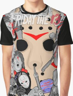 Friday the 13th collage Graphic T-Shirt