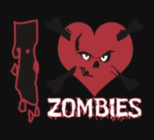 I heart zombies by Nhan Ngo