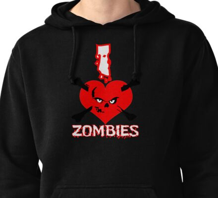 Zombies Pullover Hoodie