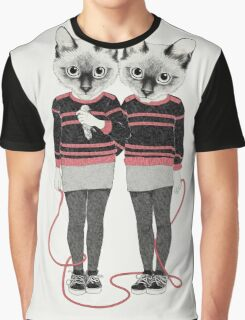 Siamese Twins Graphic T-Shirt