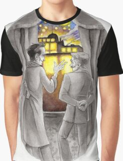 """Life is Infinitely Stranger"""" - Holmes and Watson - 221B version #  Graphic T-Shirt"""