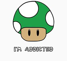 Mushroom-I'm Addicted Green Unisex T-Shirt