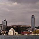 Bosphorus lightshow (1) by Marjolein Katsma