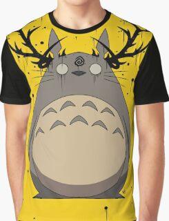 Totoro True Detective Graphic T-Shirt