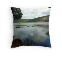 Lough Dan Throw Pillow