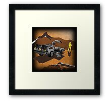 Mad Marty Framed Print