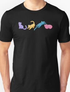 Playful Kittens Pattern Unisex T-Shirt