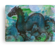 Lusus Naturae - Loch Ness Monster Canvas Print