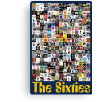 The Sixties Canvas Print