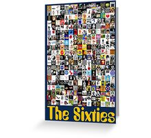 The Sixties Greeting Card