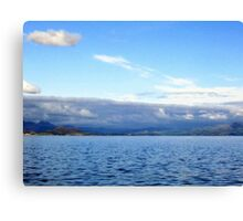 Snowdon Skies Canvas Print