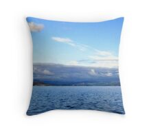 Snowdon Skies Throw Pillow
