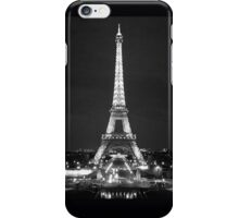 Eiffel Tower in Black and White iPhone Case/Skin