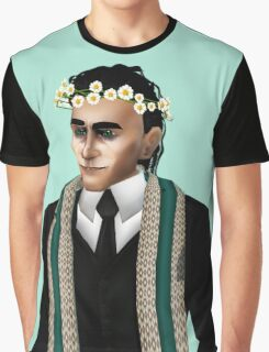 loki in crown of daisies Graphic T-Shirt