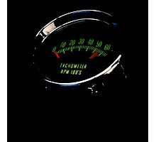 Heart Rate Gauge Photographic Print
