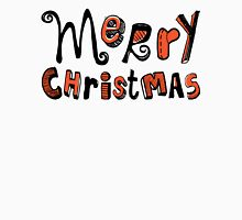 Merry Christmas - Text Design #01 Unisex T-Shirt