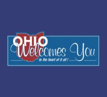 Welcome to Ohio, Road Sign, USA  by worldofsigns
