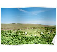 Tregeseal Stone Circle Poster