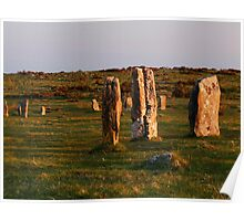 Hurlers Stone Circle Poster